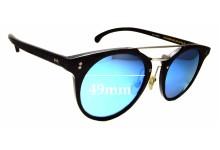Sunglass Fix Sunglass Replacement Lenses for Antica Occhialeria Eros - 49mm Wide