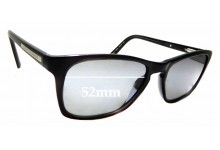 Sunglass Fix Sunglass Replacement Lenses for Armani Exchange AX 3012 - 52mm Wide