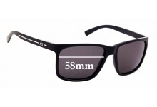 Sunglass Fix Sunglass Replacement Lenses for Armani Exchange AX 4041S - 58mm Wide