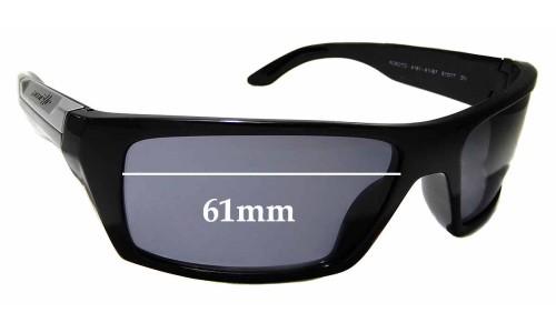 Sunglass Fix Sunglass Replacement Lenses for Arnette Roboto AN4181 - 61mm wide