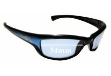 Sunglass Fix Sunglass Replacement Lenses for Arnette AN4037 - 54mm Wide
