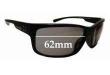Sunglass Fix Sunglass Replacement Lenses for Arnette Fastball 2.0 AN4242 - 62mm Wide