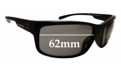 Sunglass Fix Sunglass Replacement Lenses for Arnette Fast Ball 2.0 AN4242 - 62mm Wide
