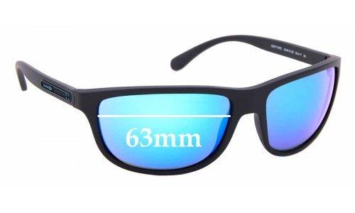 Sunglass Fix Sunglass Replacement Lenses for Arnette Grip Tape AN4246 - 63mm wide