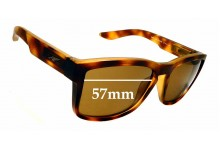 Sunglass Fix Sunglass Replacement Lenses for Arnette Turf AN4220 - 57mm Wide