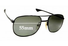 Sunglass Fix Sunglass Replacement Lenses for Artcraft USA OP - 55mm Wide