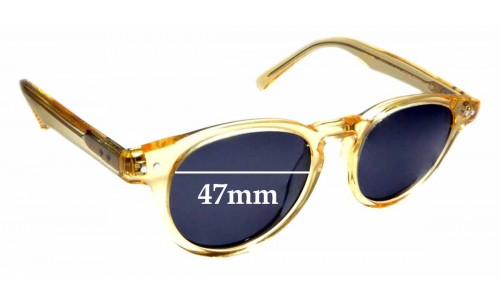 Sunglass Fix Sunglass Replacement Lenses for Bailey Nelson Joyce - 47mm Wide