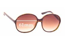 Sunglass Fix Sunglass Replacement Lenses for Balenciaga BAL 0031/S - 61mm Wide