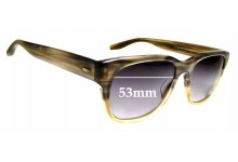Sunglass Fix Sunglass Replacement Lenses for Barton Perreira Lawford - 53mm Wide