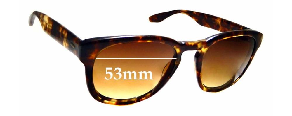 Sunglass Fix Sunglass Replacement Lenses for Berton Perreira Nelson - 53mm Wide