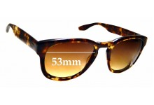 Sunglass Fix Sunglass Replacement Lenses for Berton Perreira Nelson - 53mm Wide