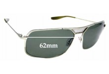 Sunglass Fix Sunglass Replacement Lenses for Barton Perreira Swindler - 62mm Wide