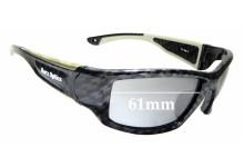 Sunglass Fix Sunglass Replacement Lenses for Barz Optics Floater - 61mm Wide