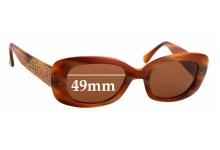 Sunglass Fix Sunglass Replacement Lenses for Beausoleil Paris 188 - 49mm Wide