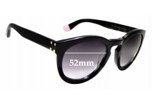 Sunglass Fix Sunglass Replacement Lenses for Blanc B0007 - 52mm Wide