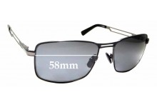 Sunglass Fix Sunglass Replacement Lenses for Borbour BS 1012 - 58mm Wide