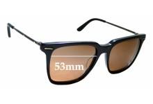 Sunglass Fix Sunglass Replacement Lenses for Bottega Veneta BV 0027S - 53mm Wide