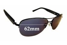 Sunglass Fix Sunglass Replacement Lenses for Bvlgari 5011 - 62mm Wide