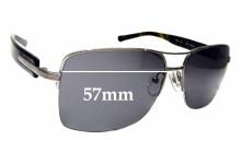 Sunglass Fix Sunglass Replacement Lenses for Bvlgari 5014 - 57mm Wide