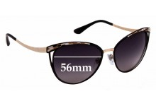Sunglass Fix Sunglass Replacement Lenses for Bvlgari 6083 - 56mm Wide