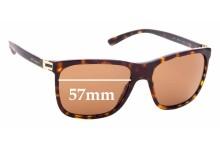 Sunglass Fix Sunglass Replacement Lenses for Bvlgari 7027 - 57mm Wide