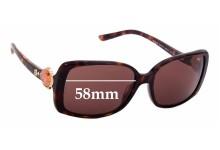 Sunglass Fix Sunglass Replacement Lenses for Bvlgari 8079-B - 58mm Wide