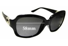 Sunglass Fix Sunglass Replacement Lenses for Bvlgari 8110-B - 58mm Wide