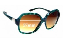 Sunglass Fix Sunglass Replacement Lenses for Bvlgari 8124-B - 57mm Wide