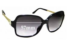 Sunglass Fix Sunglass Replacement Lenses for Bvlgari 8125-H - 57mm Wide