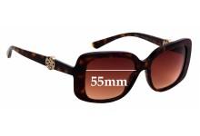 Sunglass Fix Sunglass Replacement Lenses for Bvlgari 8146-B - 55mm Wide