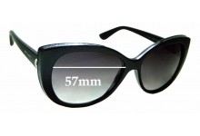Sunglass Fix Sunglass Replacement Lenses for Bvlgari 8157-B-Q - 57mm Wide