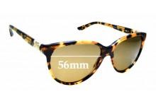 Sunglass Fix Sunglass Replacement Lenses for Bvlgari 8166-B -  56mm Wide