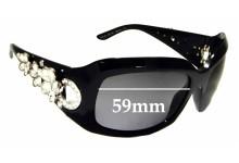 Sunglass Fix Sunglass Replacement Lenses for Bvlgari 856-B - 59mm Wide