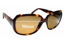 Sunglass Fix Sunglass Replacement Lenses for Calvin Klein CK3102S - 58mm Wide