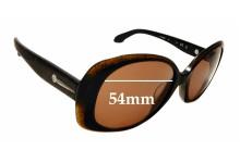Sunglass Fix Sunglass Replacement Lenses for Calvin Klein CK4182S - 54mm Wide