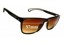 Sunglass Fix Sunglass Replacement Lenses for Calvin Klein Jeans CKJ19503S - 57mm Wide