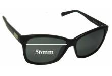 Sunglass Fix Sunglass Replacement Lenses for Calvin Klein R695S - 56mm Wide