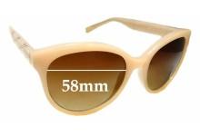 Sunglass Fix Sunglass Replacement Lenses for Calvin Klein R735S - 58mm Wide