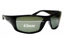 Sunglass Fix Sunglass Replacement Lenses for Cancer Council Australia Burleigh - 63mm Wide