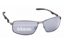 Sunglass Fix Sunglass Replacement Lenses for Cancer Council Australia Quirindi - 64mm Wide