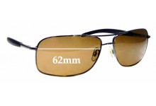 Sunglass Fix Sunglass Replacement Lenses for Cancer Council Australia Lincoln - 62mm Wide
