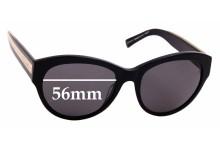 Sunglass Fix Sunglass Replacement Lenses for Carla Zampatti Sun RX 01- 56mm Wide