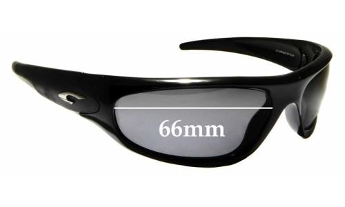 Sunglass Fix Sunglass Replacement Lenses for Carrera Chronos - 66mm wide