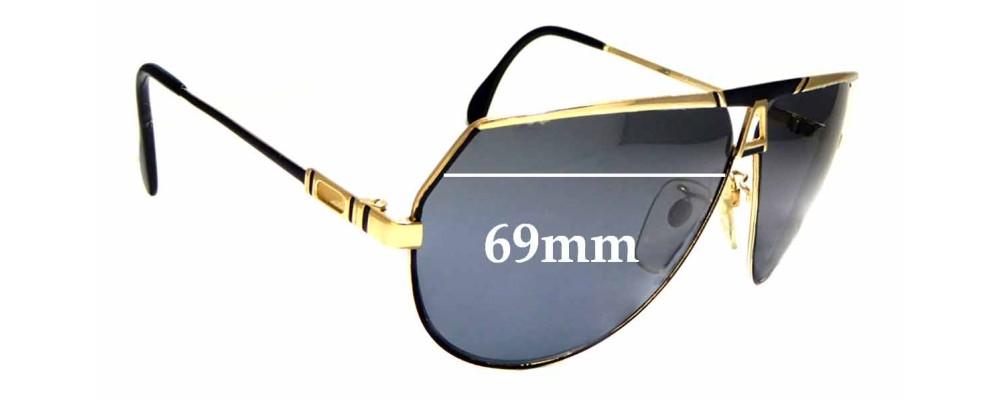 4ccb5d62e77 Sunglass Fix Sunglass Replacement Lenses for Cazal Mod 953 - 69mm Wide
