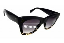 Sunglass Fix Sunglass Replacement Lenses for Celine CL 40004/I - 50mm Wide