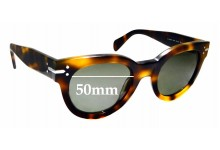 Sunglass Fix Sunglass Replacement Lenses for Celine CL 41040/S - 50mm Wide