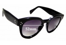 Sunglass Fix Sunglass Replacement Lenses for Celine CL 41049/S - 52mm Wide