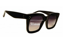 Sunglass Fix Sunglass Replacement Lenses for Celine CL 41076/S - 51mm Wide