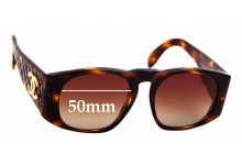 Sunglass Fix Sunglass Replacement Lenses for Chanel 01450 - 50mm Wide