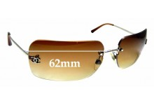 Sunglass Fix Sunglass Replacement Lenses for Chanel 4017 - 62mm Wide
